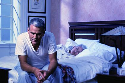 Причины бессонницы у пожилых<